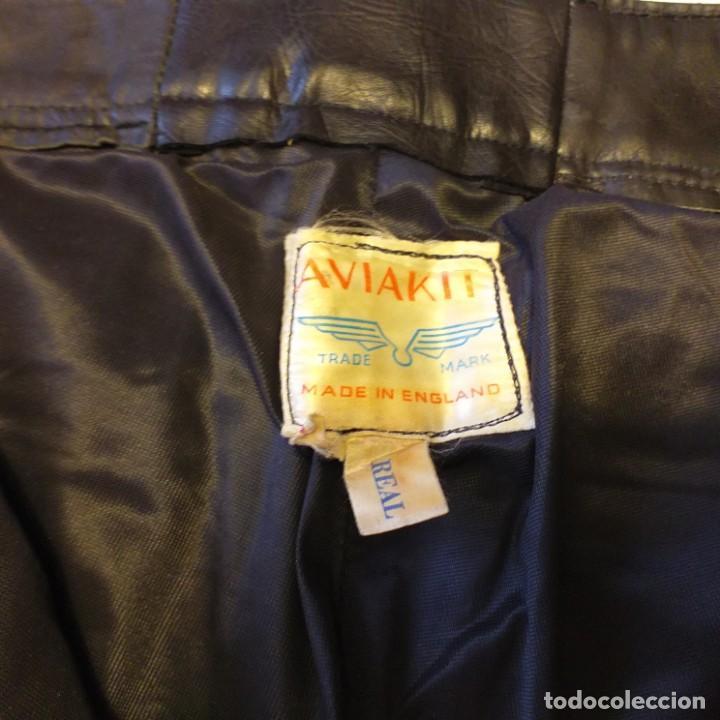 Vintage: El mítico pantalón cuero Aviakit de Lewis Leathers. Años 70. - Foto 5 - 172025522