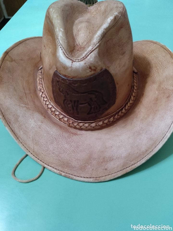 Vintage: Sombrero Vaquero cowboy en piel - Foto 2 - 172473492