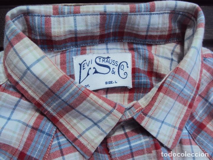 Vintage: camisa lewis - Foto 3 - 172620507