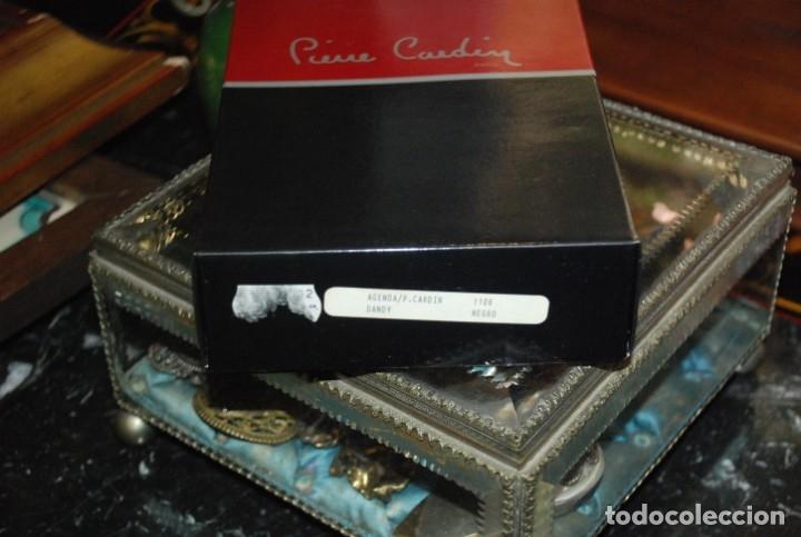 Vintage: PRECIOSA CARTERA AGENDA DE PIEL PIERRE CARDIN PARIS SIN ESTRENAR - Foto 4 - 172753227