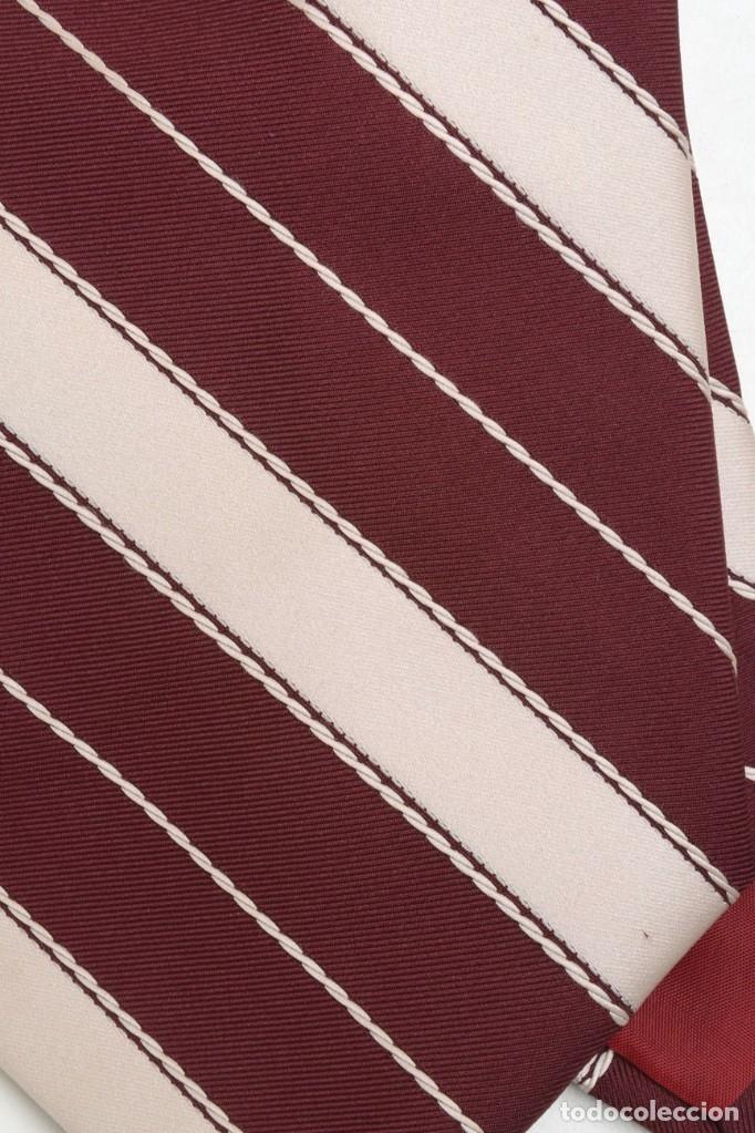 Vintage: Corbata vintage ancha de hombre a rayas, corbata años 70 - Foto 2 - 173196384