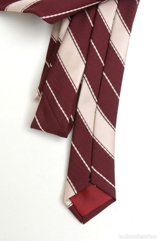 Vintage: Corbata vintage ancha de hombre a rayas, corbata años 70 - Foto 4 - 173196384