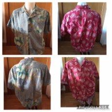 Vintage: HAWAIANA CAMISA TALLA L. EN ESTE ANUNCIO HAY 4 MODELOS DE CAMISA.. Lote 173268992