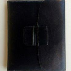 Vintage: CARTERA BILLETERO. PIEL NEGRA. NUEVA. AÑOS 70.. Lote 173479385