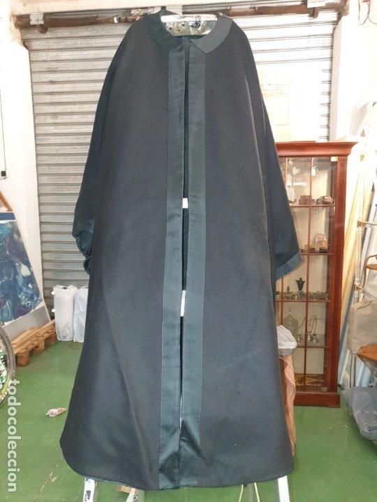 Vintage: Capa negra con forro. - Foto 8 - 173488950
