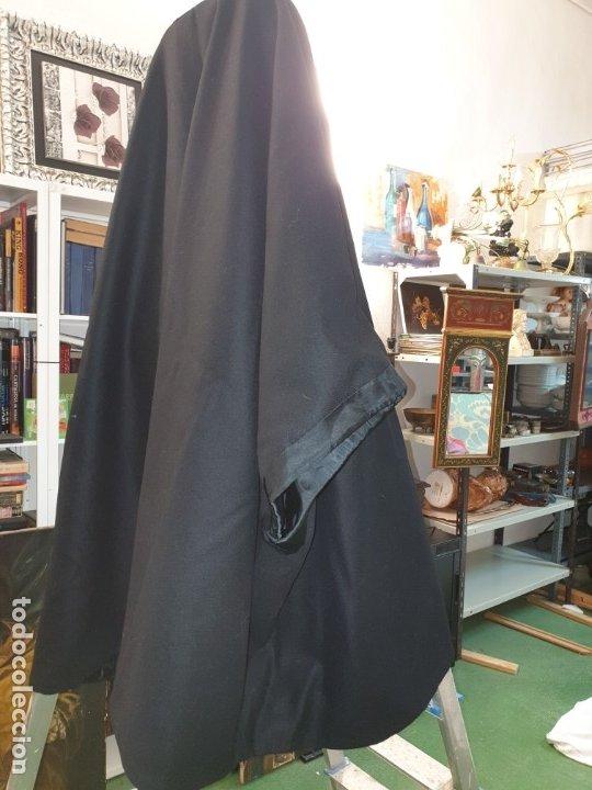 Vintage: Capa negra con forro. - Foto 10 - 173488950