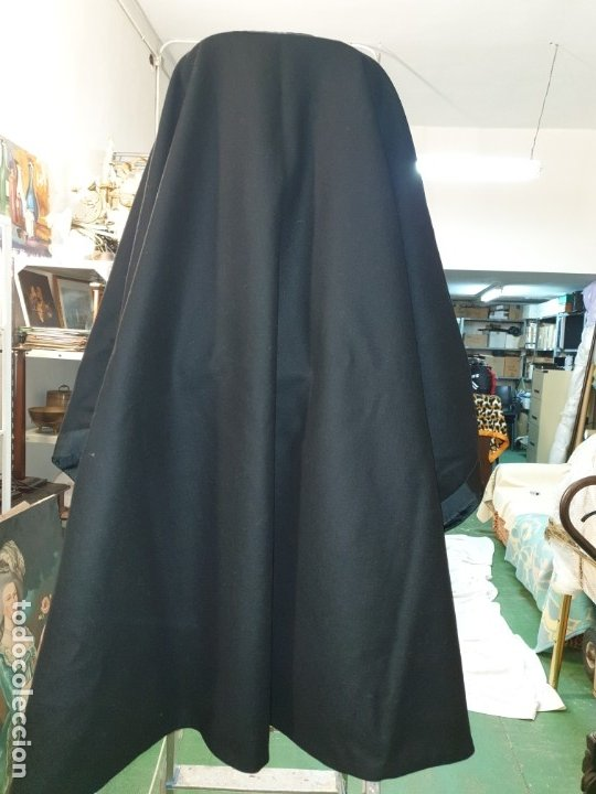 Vintage: Capa negra con forro. - Foto 11 - 173488950