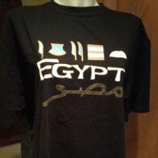 Vintage: CAMISETA EGIPTO NEGRA XL 100% ORIGINAL. Lote 173606192