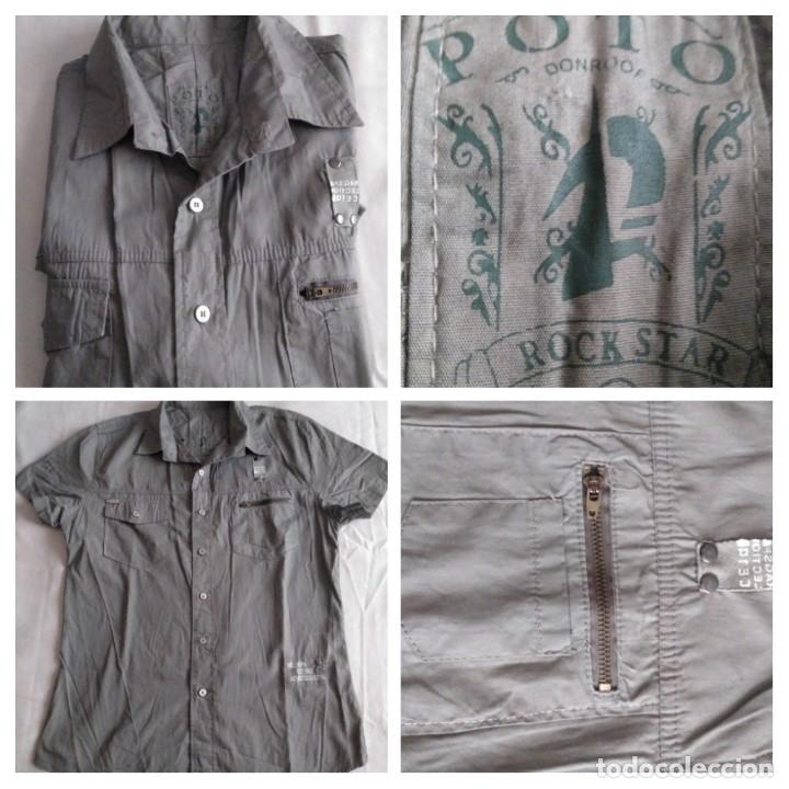 CAMISA (M.CORTA) POTO. TALLA XL. SIN USAR (Vintage - Moda - Hombre)