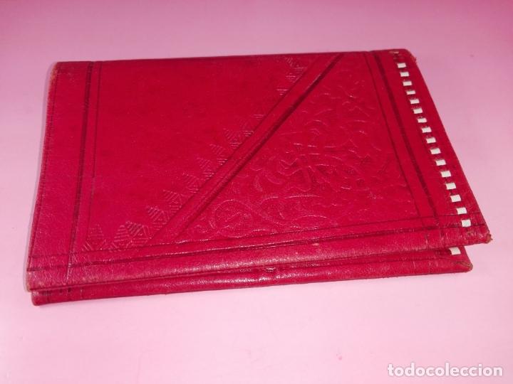 Vintage: Cartera-Piel moruna-Roja-Ver fotos+descripción - Foto 2 - 173822148