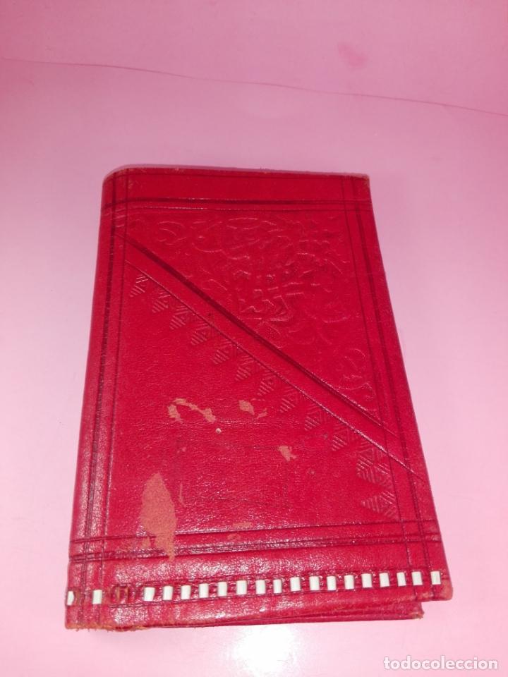 Vintage: Cartera-Piel moruna-Roja-Ver fotos+descripción - Foto 7 - 173822148