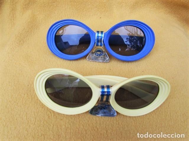 GAFAS VINTAGE CON LENTES OKULA CZECHOSLOVAQUIA (Vintage - Moda - Complementos)