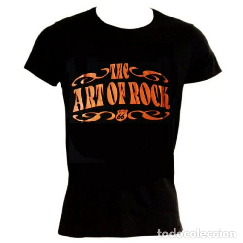 ¡SUPER OFERTA! CAMISETA MANGA CORTA NEGRA THE ART OF ROCK TALLA M (Vintage - Moda - Hombre)
