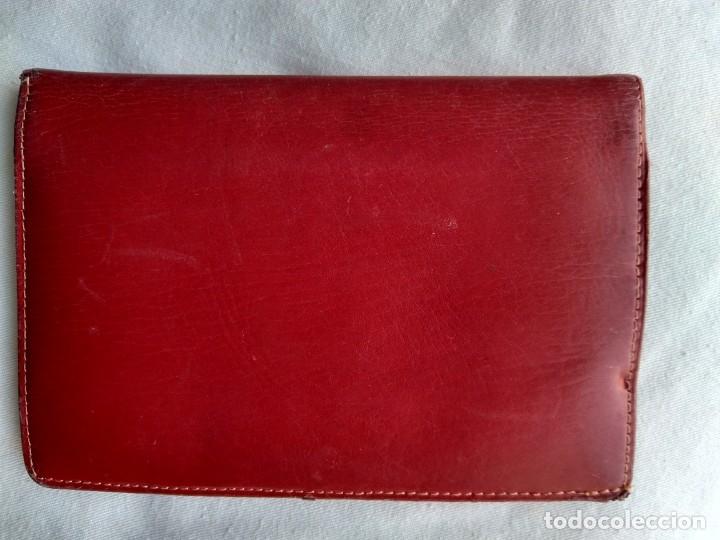 Vintage: Cartera roja piel vacuno vintage - Foto 2 - 174406789