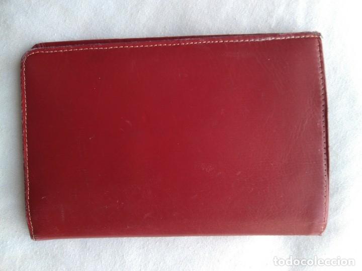 Vintage: Cartera roja piel vacuno vintage - Foto 6 - 174406789