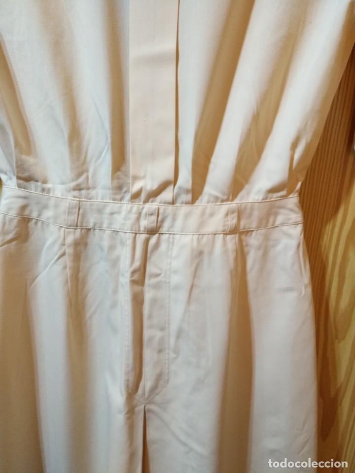 Vintage: RB 40 Vestido mujer CACHAREL manga corta beige o rosado y detalles estampados Talla 40 - Foto 7 - 174440180