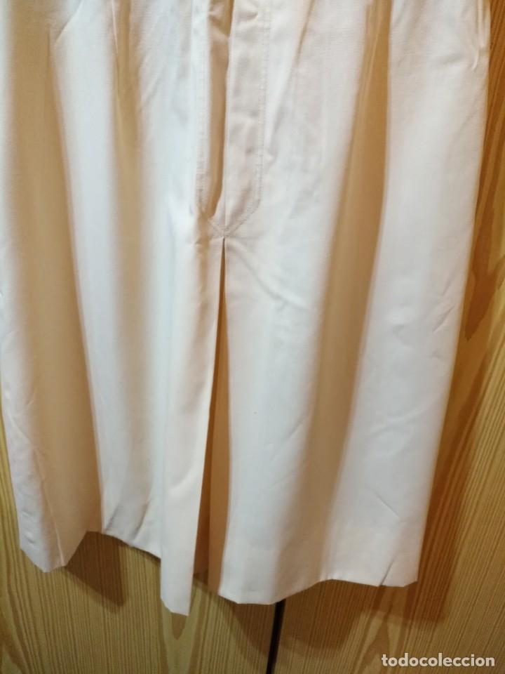 Vintage: RB 40 Vestido mujer CACHAREL manga corta beige o rosado y detalles estampados Talla 40 - Foto 8 - 174440180