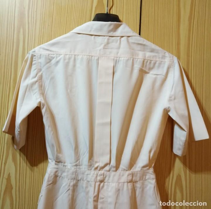 Vintage: RB 40 Vestido mujer CACHAREL manga corta beige o rosado y detalles estampados Talla 40 - Foto 11 - 174440180