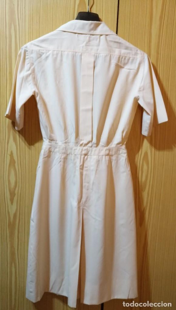 Vintage: RB 40 Vestido mujer CACHAREL manga corta beige o rosado y detalles estampados Talla 40 - Foto 12 - 174440180