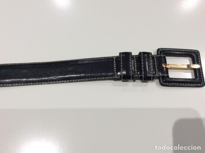 Vintage: Lote de cinco cinturones vintage de auténtica piel. Años 70. Impecables - Foto 10 - 175068418