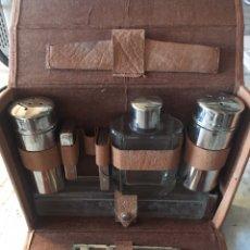Vintage: NECESER DE VIAJE CABALLERO AÑOS 40. Lote 175096122