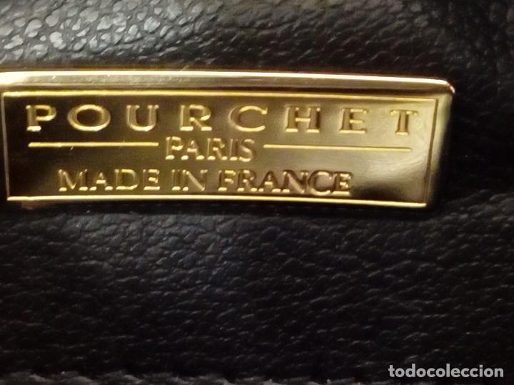 Vintage: BOLSO BANDOLERA POURCHET PARIS - Foto 10 - 175187425