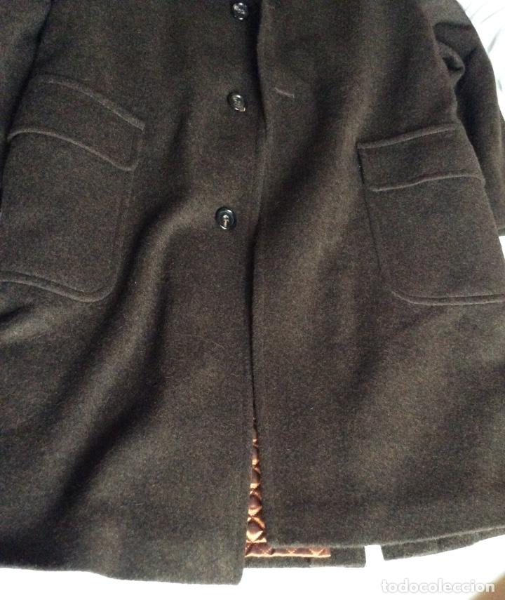 Vintage: Abrigo austriaco Giulio - Schneiders -Salzburg- color marrón - Foto 2 - 175363955