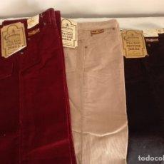Vintage: PANTALÓN VINTAGE PANA MARCA CIMARRON NUEVOS. Lote 175440073