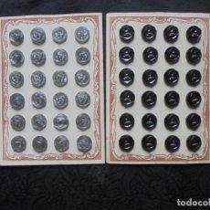 Vintage: LOTE 68 BOTONES VINTAGE EN CARTONES ORIGINALES. Lote 175721994