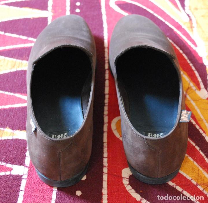 Zapatos vintage de Camper años 80, de nobuk color tórtola (ver fotos adicionales)