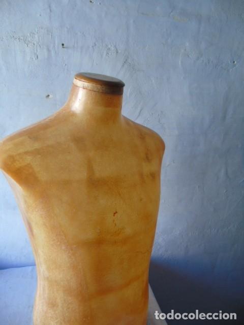 Vintage: busto manequin HOMBRE Diseño super deco fibra TRANSLUCIDA IDEAL lampara - Foto 5 - 175936944