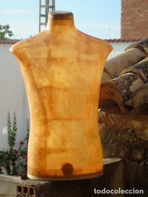 Vintage: busto manequin HOMBRE Diseño super deco fibra TRANSLUCIDA IDEAL lampara - Foto 4 - 175936944