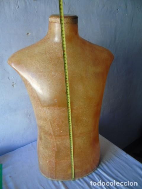 Vintage: busto manequin HOMBRE Diseño super deco fibra TRANSLUCIDA IDEAL lampara - Foto 10 - 175936944