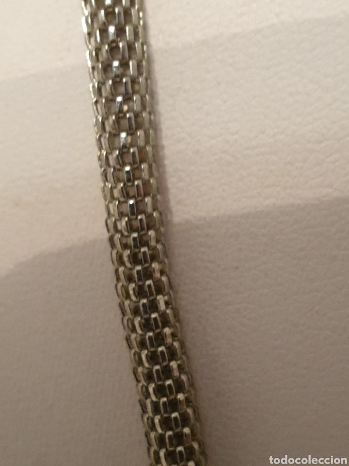 Vintage: Excelente gargantilla rodiada con cristales de diseño - Foto 3 - 176216909