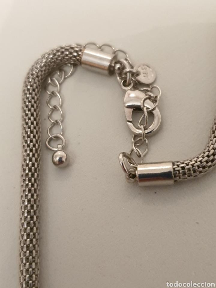 Vintage: Excelente gargantilla rodiada con cristales de diseño - Foto 5 - 176216909