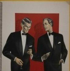 Vintage: MODA HOMBRES GRAFTON FASHIONS FOR MEN - 1960 - LONDON STYLES - EDITION DE LUXE.15 HOJAS. Lote 176298700