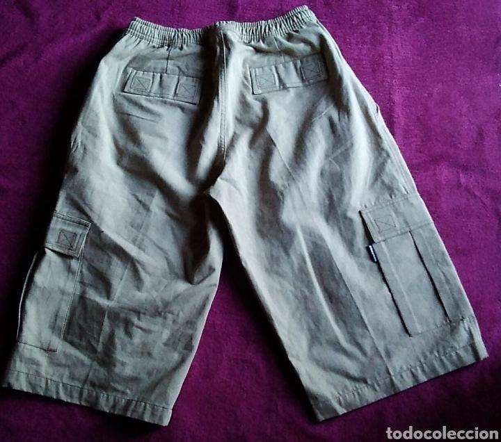 Vintage: NUEVO Pantalon Bermuda hombre Badface talla 2 beige nuevo - Foto 4 - 176356372