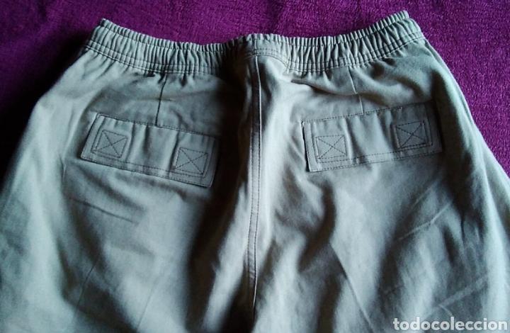 Vintage: NUEVO Pantalon Bermuda hombre Badface talla 2 beige nuevo - Foto 5 - 176356372
