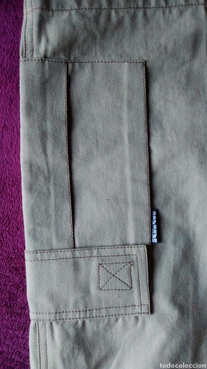 Vintage: NUEVO Pantalon Bermuda hombre Badface talla 2 beige nuevo - Foto 6 - 176356372