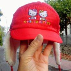 Vintage: GORRO NIÑOS HELLO KITTY. SIN USAR. SANRIO. TOKIO. IMPORTADO JAPÓN.. Lote 176405457