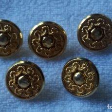 Vintage: BOTONES DORADOS. Lote 176436769