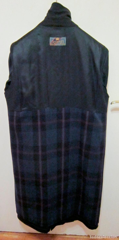 Vintage: Abrigo Loden caballero. Color azul oscuro. Años 90. Como nuevo. - Foto 4 - 176439037