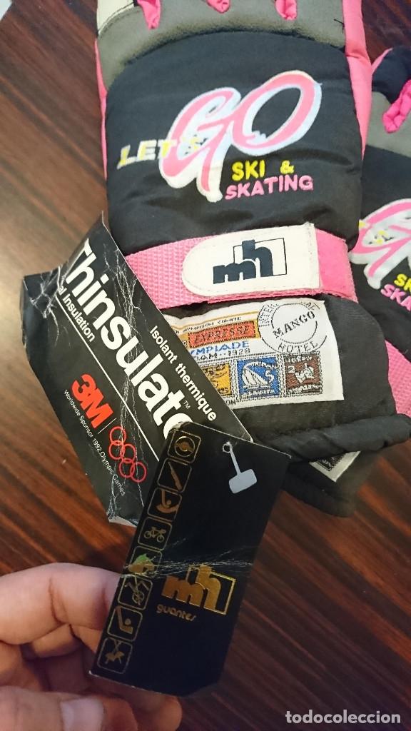 Vintage: ocasion coleccionistas antiguos guantes Ski Sky Esqui años 80 talla 10 a estrenar marca Thinsulate - Foto 2 - 176672699