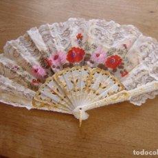 Vintage: ABANICO VINTAGE. LIQUIDACIÓN TRASTIENDA.. Lote 176803623