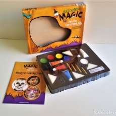 Vintage: SET O KIT DE MAQUILLAGE HALLOWEEN MAGIC SPOOKY FACE PAINT KIT. Lote 176807800