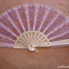 Vintage: ABANICO VINTAGE. LIQUIDACIÓN TRASTIENDA.. Lote 176829087