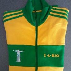 Vintage: CHAQUETA CHANDAL ADIDAS RIO DE JANEIRO. Lote 177064445