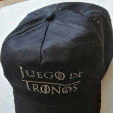 Vintage: GORRA NEGRA JUEGO DE TRONOS. Lote 177582793