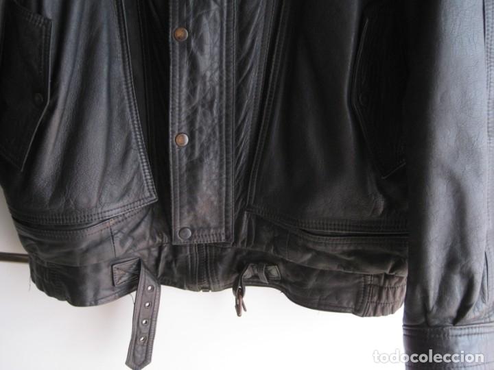 Vintage: Antigua chaqueta de piel. Años 80. - Foto 2 - 177833358
