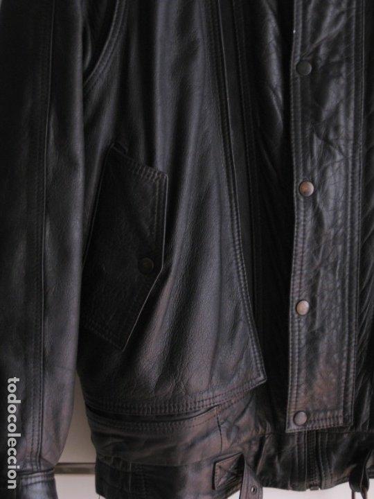 Vintage: Antigua chaqueta de piel. Años 80. - Foto 4 - 177833358
